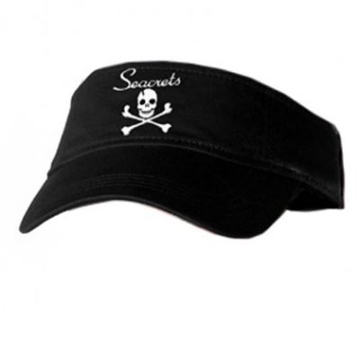 Skull and Crossbones Visor-0