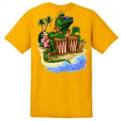Bongo Lizard Youth T-shirt-0