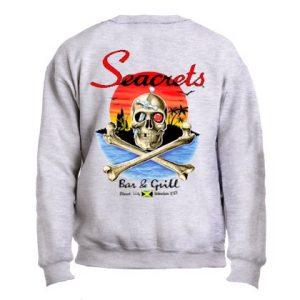 Crossbones Crewneck Sweatshirt-0