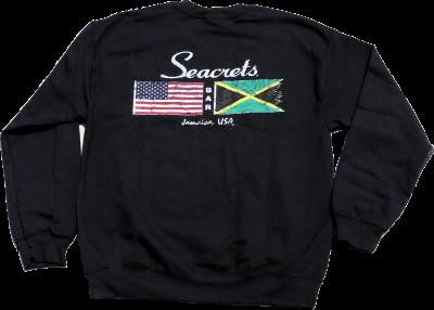 Distressed Flags Crewneck Sweatshirt-0