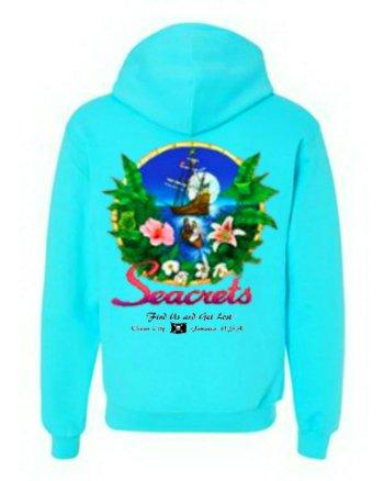 Tropics Hooded Sweatshirt-0