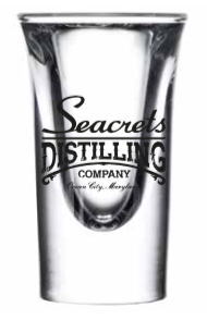 Seacrets Distilling Co. Shot Glass (Set of 3)-0