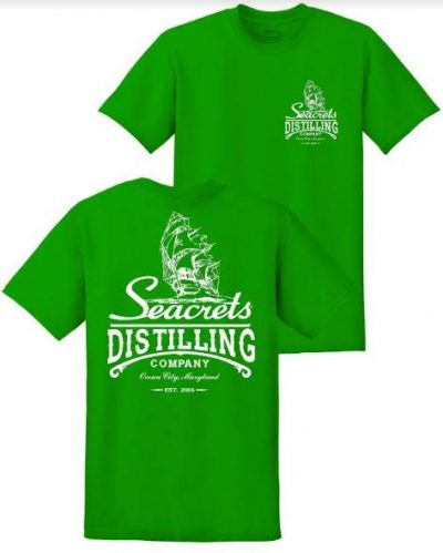 Distillery Logo Kelly Green