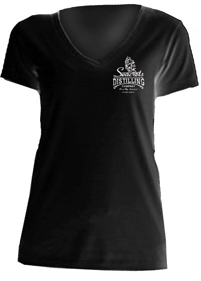 Distilling Co. V-neck T-shirt-1371