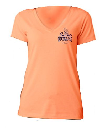 Distilling Co. V-neck T-shirt-1229