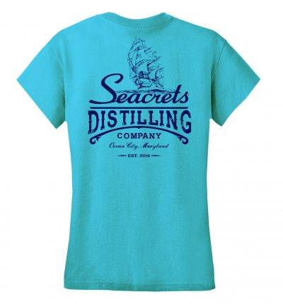 Distilling Co. V-neck T-shirt-1227