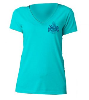 Distilling Co. V-neck T-shirt-0