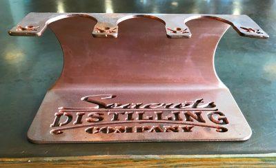 Distilling Co. Copper Shot Glass Holder-1405