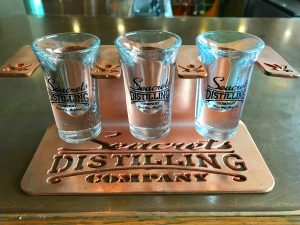Distilling Co. Copper Shot Glass Holder-0