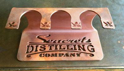 Distilling Co. Copper Shot Glass Holder-1404