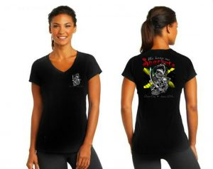 We Keep Our Seacrets V-neck T-shirt-0