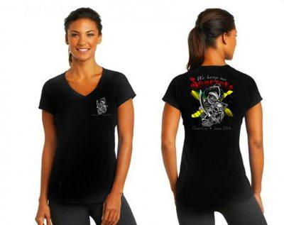 We Keep Our Seacrets V-neck T-shirt-0