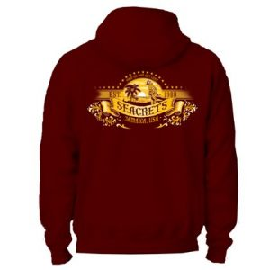 Parrot Sunset Hooded Sweatshirt-0