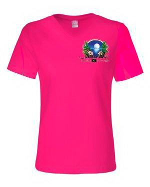 Tropics V-neck T-shirt-0