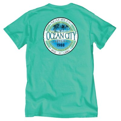 Palms Seafoam T-shirt-0