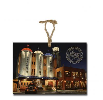 Seacrets Distilling Co. Ornament-0