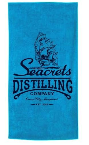 Seacrets Distilling Co. Beach Towel-0