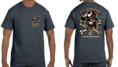 Bearded Skull T-shirt-0