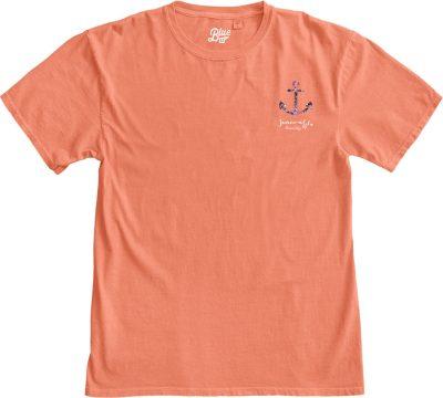 Floral Anchor T-shirt-1541