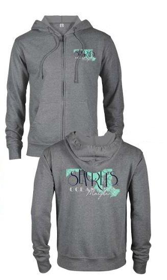 MD State Zip-Up Sweatshirt-0