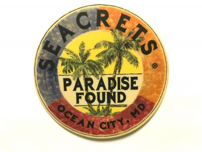 Paradise Found Sticker-0