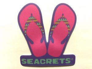 Pink Flip Flops Sticker-0