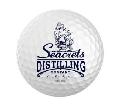 Seacrets Distilling Co. Golf Ball-1515