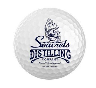 Seacrets Distilling Co. Golf Ball (3 Pack)-1517