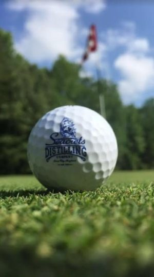 Seacrets Distilling Co. Golf Ball-0