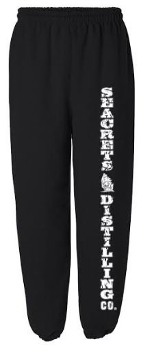 Seacrets Distilling Co. Unisex Sweatpants-0