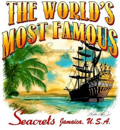World's Most Famous Seacret T-shirt-1545