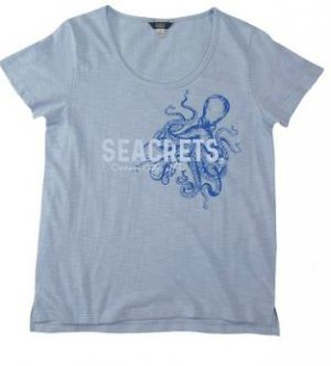 Ladies Octopus T Shirt