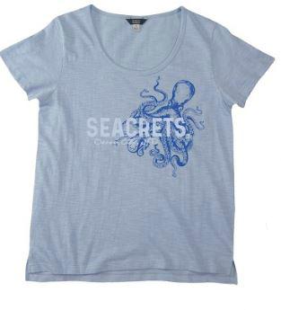 Ladies Octopus T Shirt