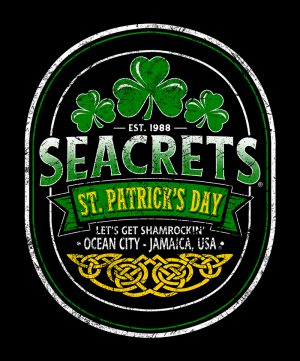 Seacrets St. Pats Celtic Oval 1 Copy