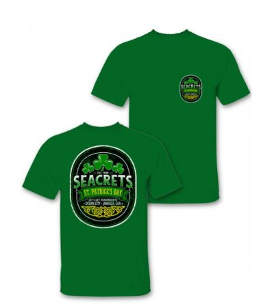 Celtic Oval Tee Front Back