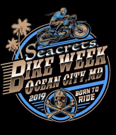 Bike Week Rider W Palms Art