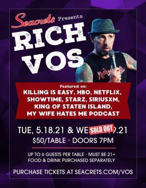 Rich Vos 2 Shows Web